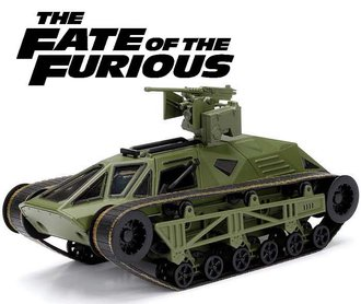 "1:24 F&F - Ripsaw ""The Fate of the Furious (2017)"""