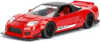 1:24 JDM Tuners - 2002 Honda NSX Type-R Japan Spec Widebody (Red)