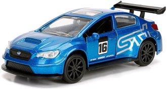 1:32 JDM Tuners - 2016 Subaru WRX STI Widebody (Blue)