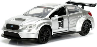 1:32 JDM Tuners - 2016 Subaru WRX STI Widebody (Silver)