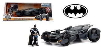 1:24 Batman™ Batmobile™ - 2017 Justice League™ w/Batman Figure
