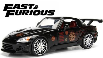 1:24 Fast & Furious - Johnny's Honda S2000 (Black)