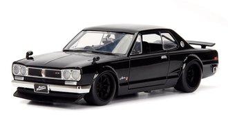 1:24 Fast & Furious - Brian's Nissan Skyline 2000 GT-R (Black)