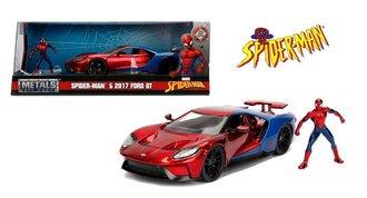 1:24 Spider-Man - 2017 Ford GT w/Spider-Man Figure