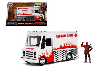 "1:24 Deadpool Food Truck ""Tacos El Guero"" w/Deadpool Figure"