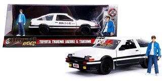 1:24 Initial D - 1986 Toyota Trueno AE86 w/Takumi