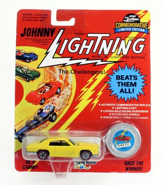 1:64 Custom Pontiac G.T.O (Yellow) ***Soft Corner(s)***