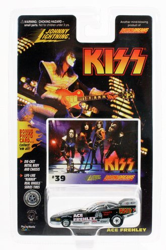"""1:64 KISS Funny Car Dragster """"Ace Frehley"""""""