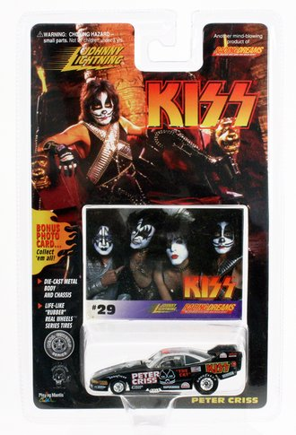 """1:64 KISS Funny Car Dragster """"Peter Criss"""""""