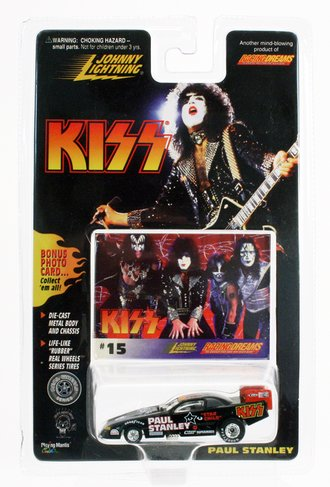 """1:64 KISS Funny Car Dragster """"Paul Stanley"""""""