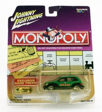 "1:64 Monopoly - 2001 Chrysler PT Cruiser ""North Carolina Ave"" (Green/Black)"