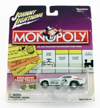 "1:64 Monopoly - 1971 Satellite Funny Car ""Advance To Go"""