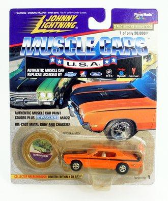 1:64 Muscle Cars USA - 1966 Chevy Malibu (Green) ***Soft Corners***