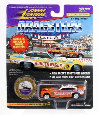 "1:64 Dragsters USA - Wonder Wagon ""Don Schumacher"" (Orange) *** Soft Corners ***"