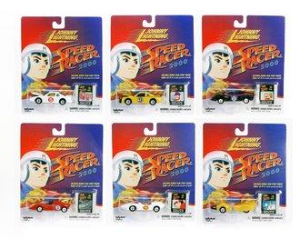 1:64 Speed Racer 2000 Series (Set of 6)