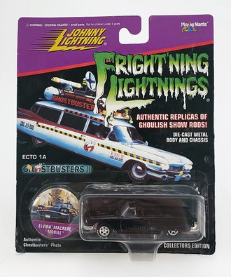 1:64 Frightning Lightning - Elvira Macabre Mobile (Black)