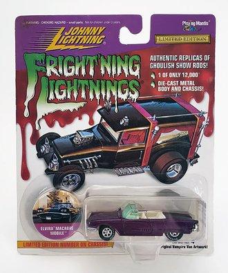 1:64 Frightning Lightning - Elvira Macabre Mobile (Dark Red)  ***Soft Corners***