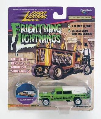1:64 Frightning Lightning - Hauln' Hearse (Green)  ***Soft Corners***