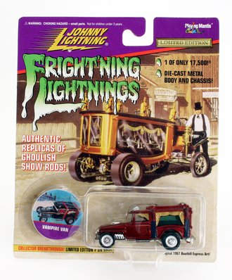 1:64 Frightning Lightning - Vampire Van (Red)