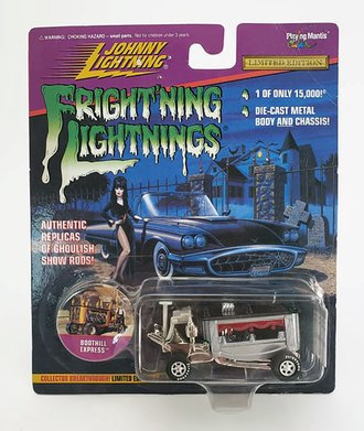 1:64 Frightning Lightning - Boothill Express (Silver)  ***Soft Corners***
