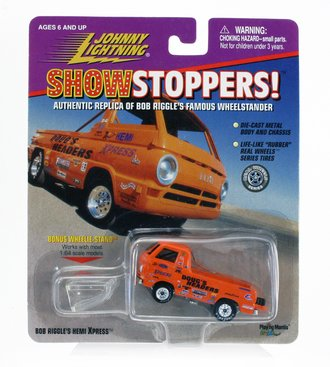 1:64 Show Stoppers! - Bob Riggle's Hemi Xpress (Orange)