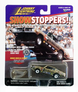 """1:64 Show Stoppers! - Hemi Under Glass """"Bob Riggle"""" (Gold)"""