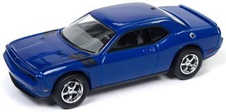 1:64 2010 Dodge Challenger (Deep Water Blue Metallic)