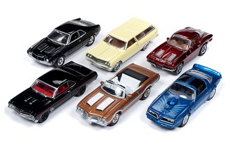 1:64 Classic Gold Series, Release 15A (Set of 6)