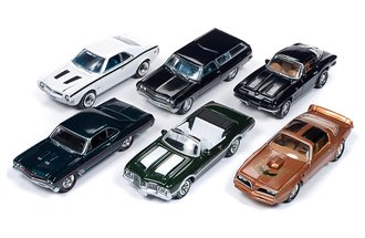1:64 Classic Gold Series, Release 15B (Set of 6)