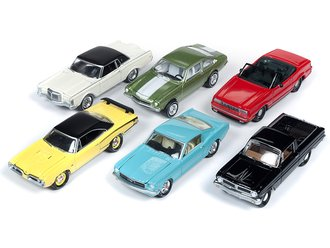 1:64 Classic Gold Series, Series 2019 Release 1A (Set of 6)
