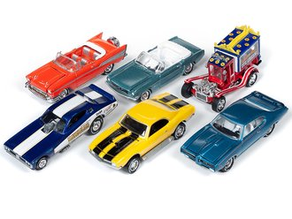 1:64 Classic Gold Series, 50th Anniversary Series 2019 Release 1A (Set of 6)