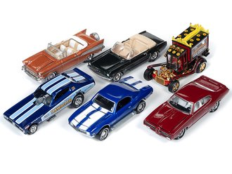 1:64 Classic Gold Series, 50th Anniversary Series 2019 Release 1B (Set of 6)
