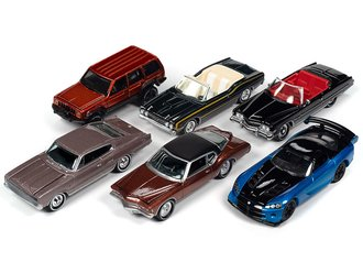 1:64 Classic Gold Series, Series 2020 Release 1B (Set of 6)