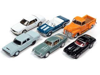 1:64 Johnny Lightning Classic Gold Series- 2020 Release 2A (Set of 6)