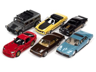 1:64 Classic Gold Series, Series 2021 Release 1A (Set of 6)