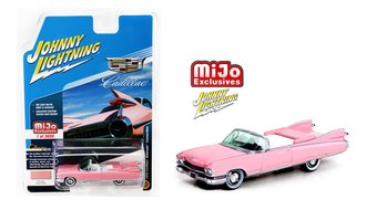 1:64 1959 Cadillac Eldorado Convertible (Pink)