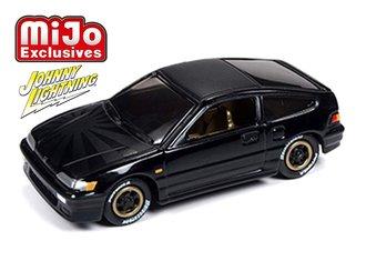 1:64 1991 Honda CRX (Custom Gloss Black)