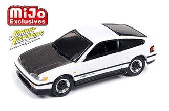 1:64 1991 Honda CRX (Custom Gloss White)