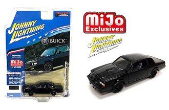 1:64 1987 Buick Grand National GNX (Black)