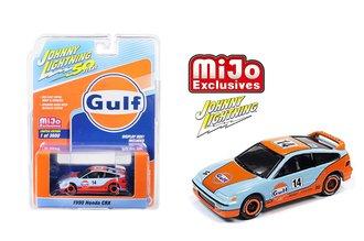 1:64 50th Anniversary - Gulf - 1990 Honda CRX