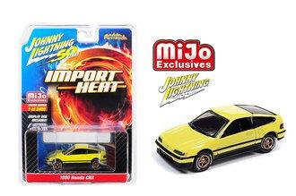 1:64 50th Anniversary - Street Freaks - 1990 Honda CRX (Yellow)