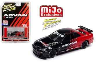 1:64 50th Anniversary - Advan Yokohama - Nissan GT-R R34