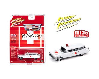 1:64 1959 Cadillac Ambulance (White)