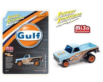 "1:64 1980 Chevy Silverado Zinger ""Gulf"""