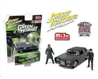 "1:64 The Green Hornet Black Beauty w/American Diorama Figures ""Green Hornet & Kato"""
