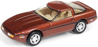 "1:64 1988 Chevrolet Corvette ""80's Muscle"" (Dark Bronze Metallic)"