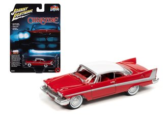 "1:64 Christine 1958 Plymouth ""Daytime Version"" (Red Body/White Roof)"