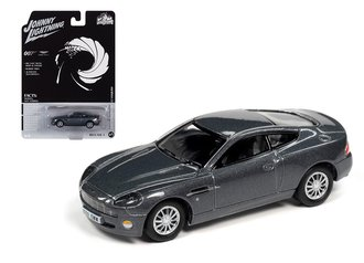 "1:64 James Bond 2002 Aston Martin Vanquish ""Die Another Day"" (Tungsten Silver)"