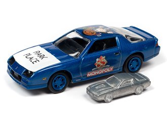 Monopoly 1985 Chevrolet Camaro w/Token (Stratto Blue)