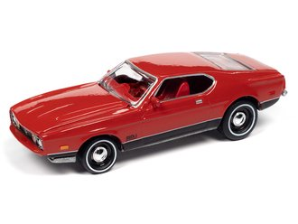 """James Bond 1971 Ford Mustang Mach 1 """"Diamonds Are Forever"""" (Bright Red)"""